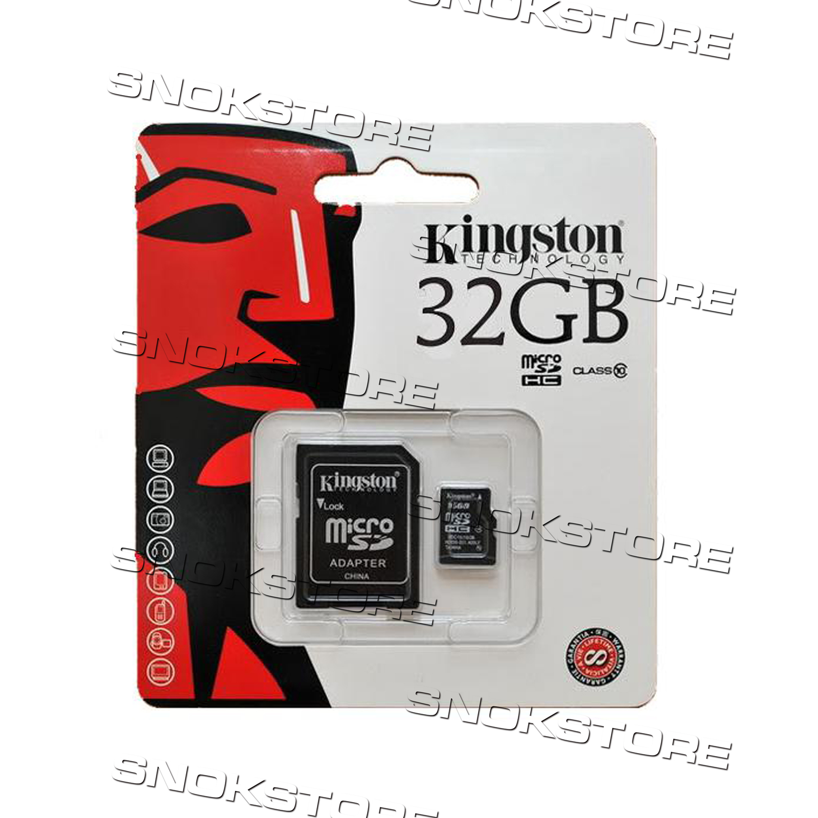 kingstone microsd 32bg classe 10 transflash micro sd 32 gb memory card sdhc ebay. Black Bedroom Furniture Sets. Home Design Ideas