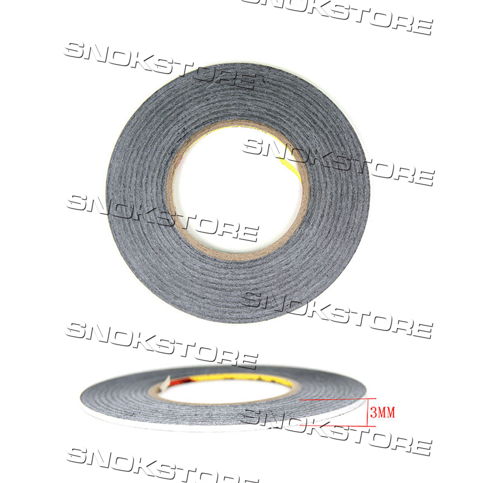 1X ROTOLO BIADESIVO PER LCD TOUCH SCREEN 3mmx50m ROLL SHIELD DOUBLE SIDED TAPE